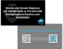 Limu Business Cards