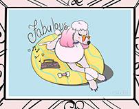 Fabulous Poodle