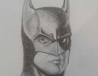 Batman 1989 enlápiz