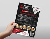 FANPAGE, FUKUSUSHI, Diseño de Portadas, Diseño de Flyer