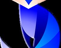 Rediseño de Logo (color y textura) Efecto Bisel 3D