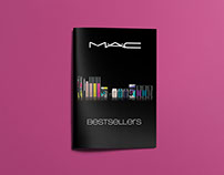 COSMETICS CATALOGUE. Art direction, editorial design.