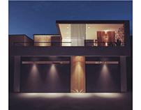 La Huerta house