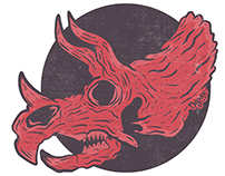 Triceratops sticker!