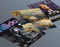 Portadas de Revista - Psynema, Fábula y Chillido