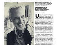 Gianluca Vacchi interview