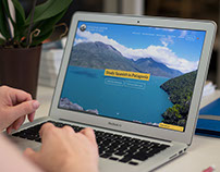Patagonia Andina Spanish School - Website development