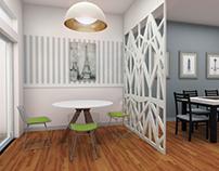 Diseño de interor y prueba de pisos
