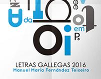 Letras gallegas 2016