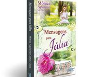 Capa/Book cover - Mensagens para Júlia