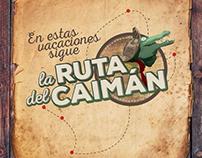 Campaña Ruta del Caimán