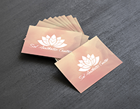 Logo e cartão Sol Aesthetic Center