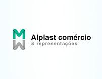 Logotipo MWALPLAST
