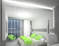 Diseño Habitacion Hotel