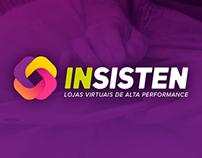 InSisten - Identidade visual e Website