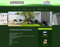Site - A Prestacional Agência de Prestação de Serviços