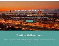 Certidão Italiana