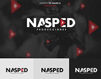 Diseño de Logotipo NASPED PRODUCCIONES