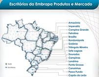 Cartaz - Escritórios licenciados EMBRAPA