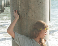 Livia Cichello in Huntington Beach.