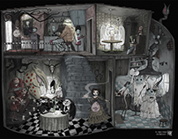 Tribute to Tim Burton - Frog's Breath Restaurant