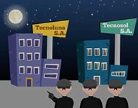 Animación video Seguros Bolívar