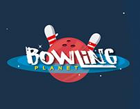 Bowling Planet / Branding