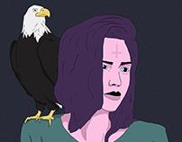 Eagle + Woman