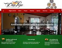 Site para o restaurante de comida Espanhola Dom Pepe.