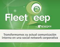 Fleet Peep, start-up, fundraising deck
