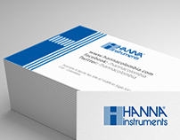 Designs for Hanna Instruments