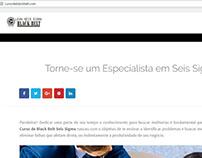 Instalação de Wordpress e Criação do Logotipo do site.