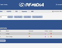 Painel Controle RF Midia