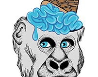 Mi amigo el gorila.