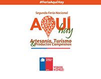 · FERIA AQUÍ HAY · GOBIERNO DE CHILE ·