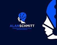 Marca, Identidade Visual - Dr. Alan Schimitt