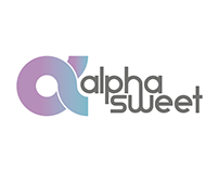 Alpha Sweet - Logo + Visual ID
