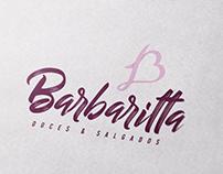 Identidade Visual Barbaritta Doces & Salgados