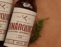 Branding Anárquica Cerveza Artesanal
