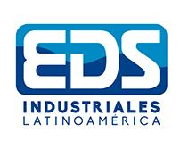 Sistema gráfico para imagen corporativa de empresa EDS.