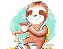 De pereza, café y bicicletas //