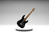 3D Guitarra