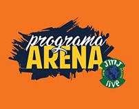 Isologo Programa Arena, no JMJ Live 2016