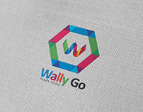 Diseño de logo Wally Go