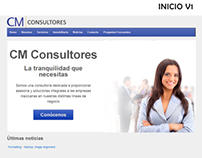 CM Consultores Website