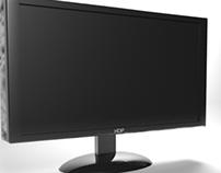 LCD en 3D