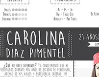 CV Carolina Diaz ® Periodista