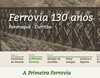 Ferrovia 130 anos: Curitiba - Paranaguá