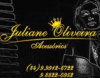 Arte e Logomarca Juliane Oliveira Acessórios