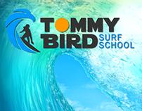 Tommy Bird Logo y material digital para redes